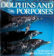 Cover of: Dolphins and porpoises | Louise Quayle