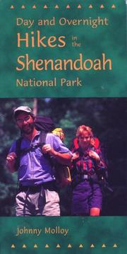Cover of: Day and overnight hikes in Shenandoah National Park | Johnny Molloy