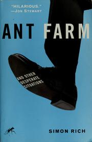 Cover of: Ant farm