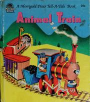 Cover of: Animal train