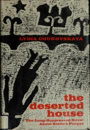 Cover of: The deserted house