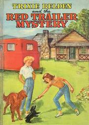 Cover of: Trixie Belden and the red trailer mystery: #2