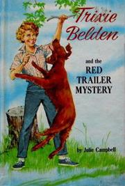 Cover of: Trixie Belden and the red trailer mystery |
