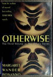 Cover of: Otherwise | Margaret Wander Bonanno