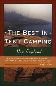 Cover of: The Best in Tent Camping: New England | Lafe Low