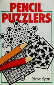 Cover of: Pencil puzzlers
