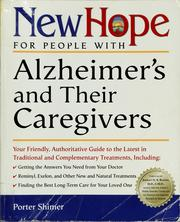 Cover of: New hope for people with Alzheimer's and their caregivers