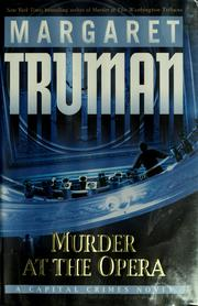 Cover of: Murder at the opera