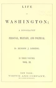 Cover of: Life of Washington