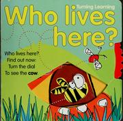 Cover of: Who lives here? | Gill Davies