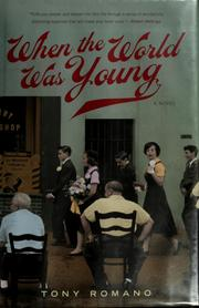 Cover of: When the world was young