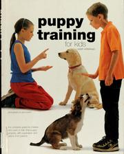Cover of: Puppy training for kids | Sarah Whitehead