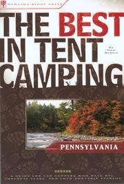Cover of: The Best in Tent Camping: Pennsylvania | Matt Willen