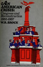 Cover of: An American crisis