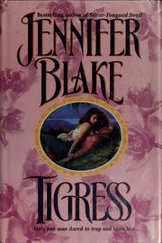 Cover of: Tigress | Jennifer Blake