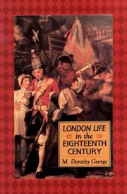 Cover of: London life in the eighteenth century