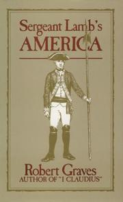 Cover of: Sergeant Lamb's America
