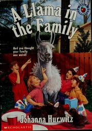 Cover of: A llama in the family