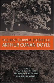 Cover of: The best horror stories of Arthur Conan Doyle | Arthur Conan Doyle