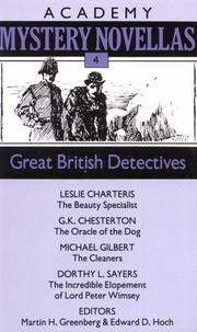 Cover of: Great British detectives