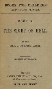 Cover of: The sight of hell by John Furniss
