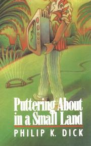 Cover of: Puttering about in a small land