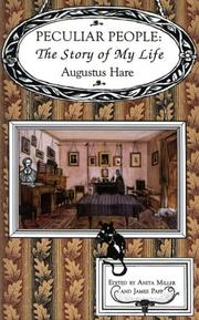 Cover of: Peculiar people | Augustus J. C. Hare