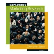 Cover of: Exploring Marketing Research | William G. Zikmund