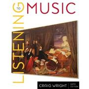 Cover of: 2-CD Set for Wright's Listening to Music, 6th and Listening to Western Music by
