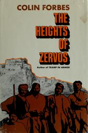 Cover of: The heights of Zervos