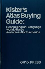 Cover of: Kister's Atlas buying guide by Kenneth F. Kister