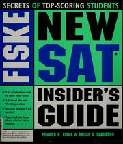Cover of: Fiske new SAT insider's guide index