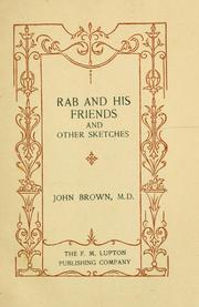Cover of: Rab and his friends, and other sketches