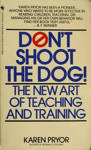 Cover of: Don't shoot the dog!