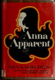 Cover of: Anna Apparent