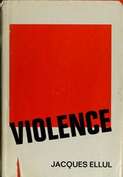 Cover of: Violence