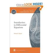 Cover of: Introduction to Differential Equations (Pure and Applied Undergraduate Texts) by Michael E. Taylor