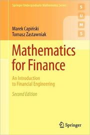 Cover of: Mathematics for Finance by
