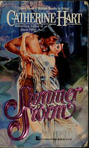 Cover of: Summer storm | Catherine Hart
