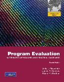 Cover of: Program Evaluation by