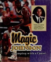 Cover of: Magic Johnson: champion with a cause
