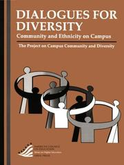 Cover of: Dialogues for Diversity | The (PCCD) Project on Campus Community and Diversity