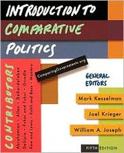 Cover of: Introduction to comparative politics |