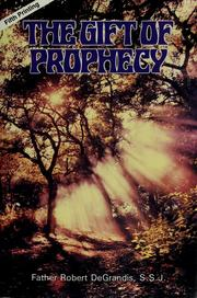 Cover of: The gift of prophecy