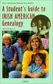 Cover of: A student's guide to Irish American genealogy