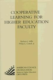 Cover of: Cooperative learning for higher education faculty | Barbara J. Millis