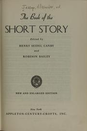 Cover of: The book of the short story | Alexander Jessup