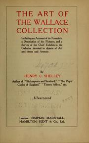 Cover of: The art of the Wallace Collection