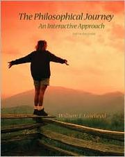 Cover of: The Philosophical Journey | William Lawhead