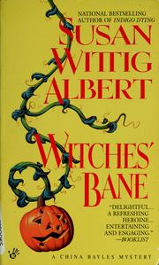 Cover of: Witches' bane
